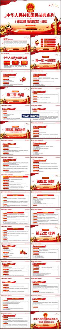 中华人民共和国民法典第五编婚姻家庭解读PPT