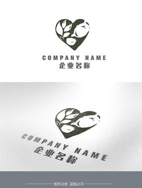 中式茶行业LOGO