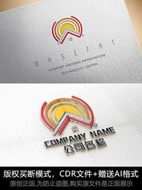 房地产logo标志简约商标设计