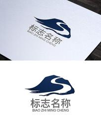 山峰logo标志设计