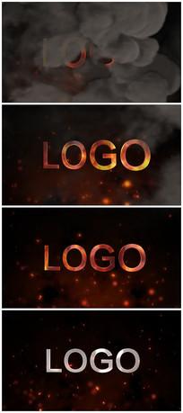 震撼logo演绎片头视频模板