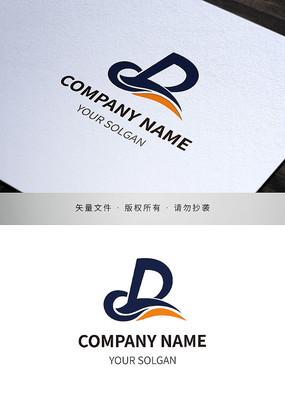 字母CD品牌标志设计