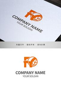 字母FY食品品牌标志设计
