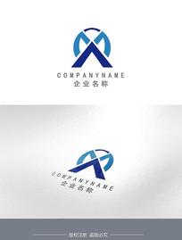 字母X建筑企业LOGO设计