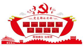 党支部的引领文化墙