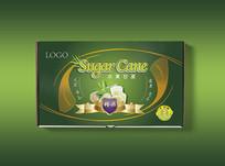 绿色甘蔗包装
