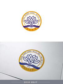 中学学校校徽logo设计