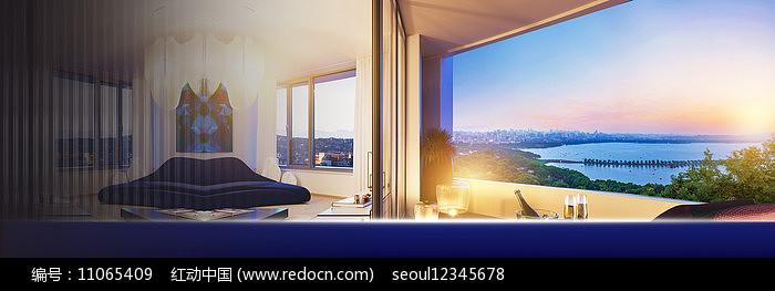 高端房地产广告图片