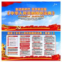 中华人民共和国民法典内容解读展板