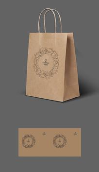 出口海鲜包装牛皮纸袋包装