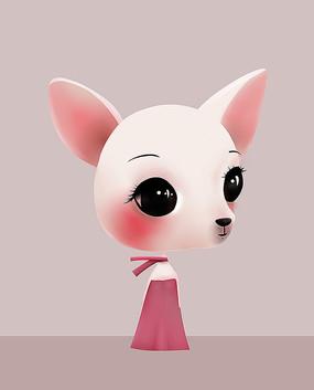 原创可爱卡通动物狗