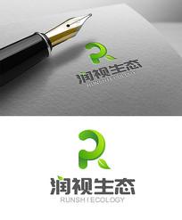 绿色生态环保logo