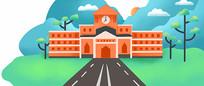 校园背景图片