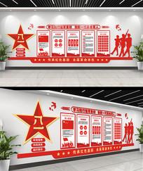 部队宣传文化墙