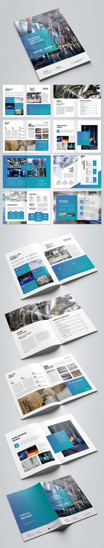 大气智能机械画册工业制造宣传册产品模板