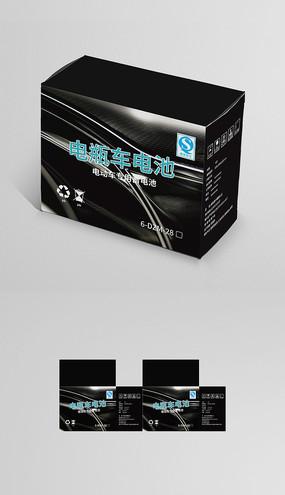 高档电瓶车电池包装盒设计