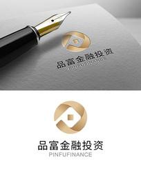 金融铜钱logo