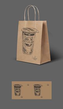 可乐打包牛皮纸袋包装