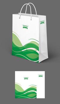 绿色农业粮食手提袋