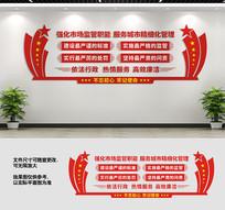 市场监督管理局文化墙设计