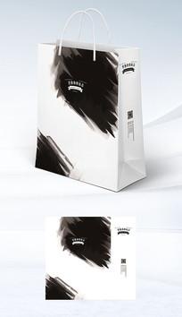 水墨中国风手提袋纸袋包装