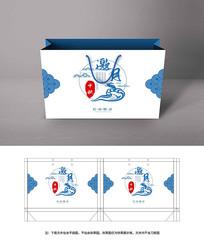 中国风月饼手提袋包装
