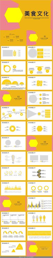 中国饮食美食文化PPT模板