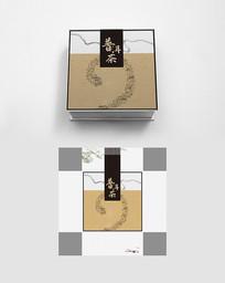 中式复古高端大气普洱茶叶包装礼盒