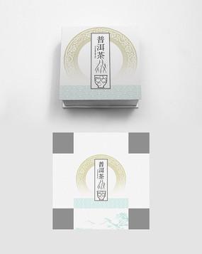 中式高端大气普洱茶叶包装礼盒