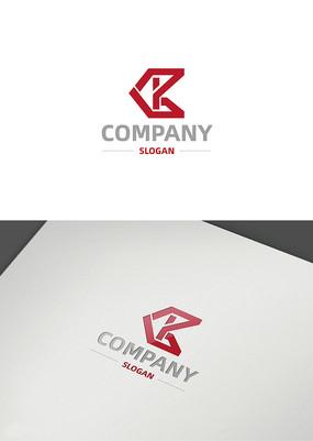 創意字母ck企業logo