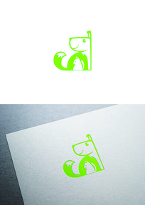 猫狗宠物图标logo