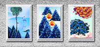 欧式相框室内装饰画