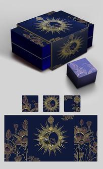 素雅中秋月饼包装设计