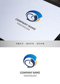 网络科技类标志设计