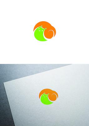 蜗牛图标logo