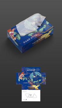 创意大气抽纸盒包装设计