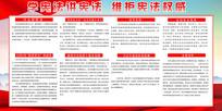 弘扬宪法精神国家宪法日展板