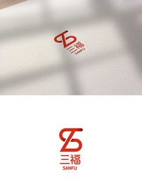 SFlogoSF标志字母标志