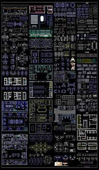 办公室CAD图纸集合