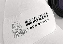 蛋糕放店铺logo