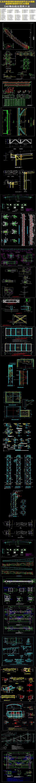 汇总多种通用钢桁架结构连接节点CAD图集