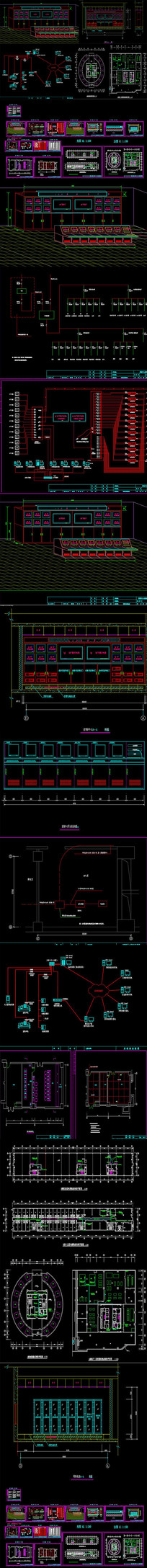 建筑弱电智能化CAD图纸