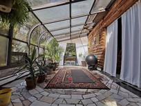 阳台装饰室内设计意向图