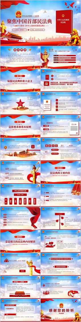 中华人民共和国民法典草案学习解读ppt