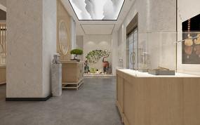 珠寶展廳3D模型文件
