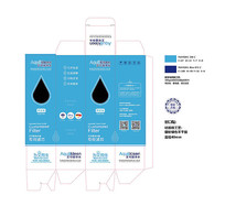 净水滤芯包装盒设计