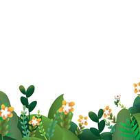 原创手绘植物元素