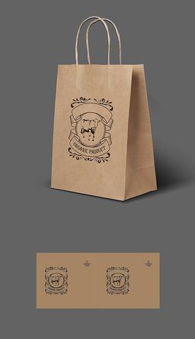风干牛肉包装手提袋