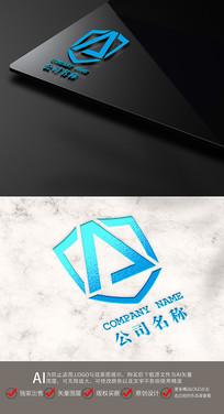 创意A字母LOGO标志设计