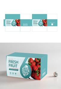 创意草莓水果包装设计